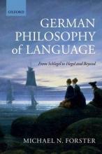 Michael N. Forster German Philosophy of Language