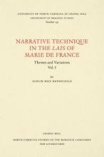 Judith Rice Rothschild Narrative Technique in the Lais of Marie de France