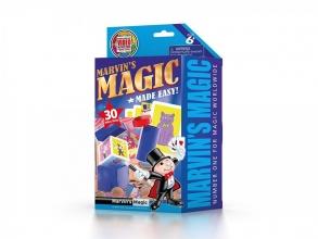 Mar-mme3012 , Marvin`s magic made easy - 30 magic tricks - blauw