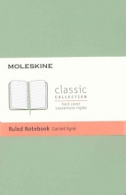 Moleskine Classic Notebook, Pocket, Ruled, Willow Green