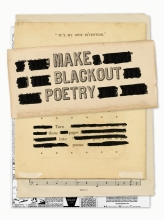 John Carroll Make Blackout Poetry:Turn These Pages into Poems