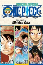 Oda, Eiichiro One Piece Water Seven 34-35-36