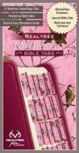 Realtree Pink Camo Bible Tabs