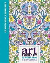 Preston, Lizzie Art Therapy 20 Notecards & Envelopes