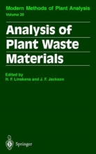 H. F. Linskens,   J. F. Jackson Analysis of Plant Waste Materials