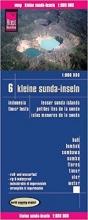 , Reise Know-How Landkarte Kleine Sunda-Inseln(1:800.000) - Bali, Lombok, Sumbawa, Sumba, Flores, Timor, Alor, Wetar -  Karte Indonesien 6