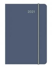 , Agenda 2021 teneues mini flexi earthline thistle 7d2p 8x11 cm softcover