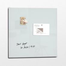 , glasmagneetbord XL Sigel Artverum 1000x1000x18mm super wit