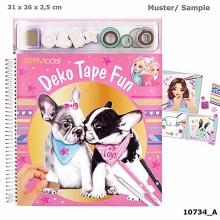 , Topmodel kleurboek met maskin g tapes dog