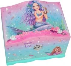 , Fantasy model sieradendoos met licht mermaid