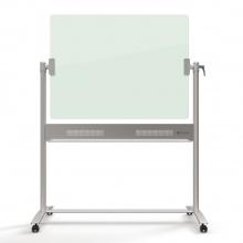 , Kantel glasbord Nobo Diamond 90x120cm