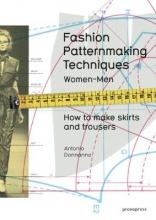 Antonio Donnanno Fashion Patternmaking Techniques