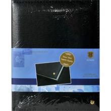 , Receptiealbum gestikt 205x260mm zwart