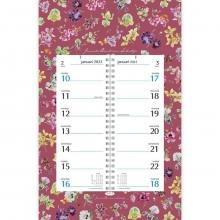 , Omlegkalender week janneke brinkman orchidee 21x34