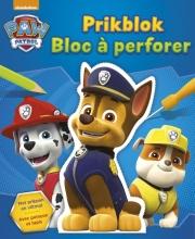 , Paw Patrol prikblok ; La Pat`patrouille bloc à perforer