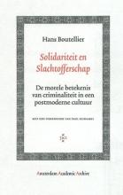 Hans Boutellier , Solidariteit en Slachtofferschap