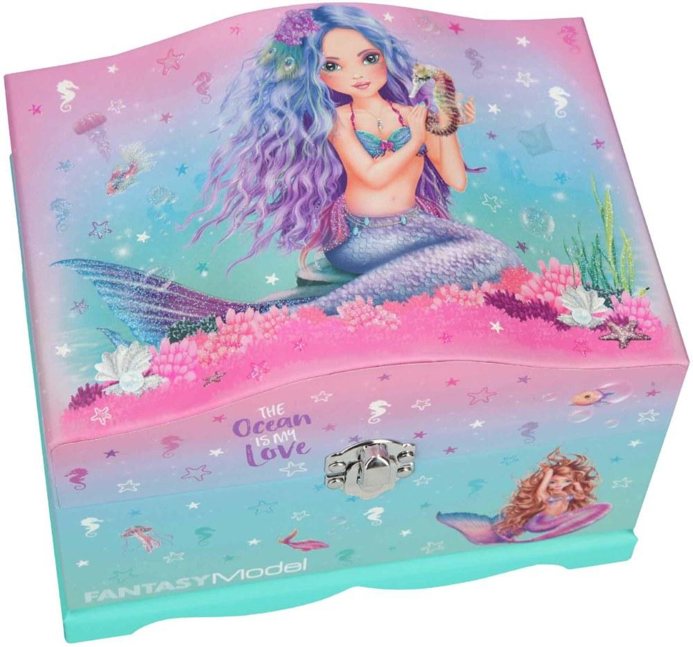 ,Fantasy model sieradendoos met licht mermaid