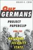 Brian E. Crim, Our Germans