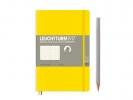 <b>Lt358303</b>,Leuchtturm notitieboek softcover 19x12.5 cm bullets/dots/puntjes lemon geel