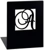 <b>Mos-81339</b>,Boekensteunen metaal a en z zwart