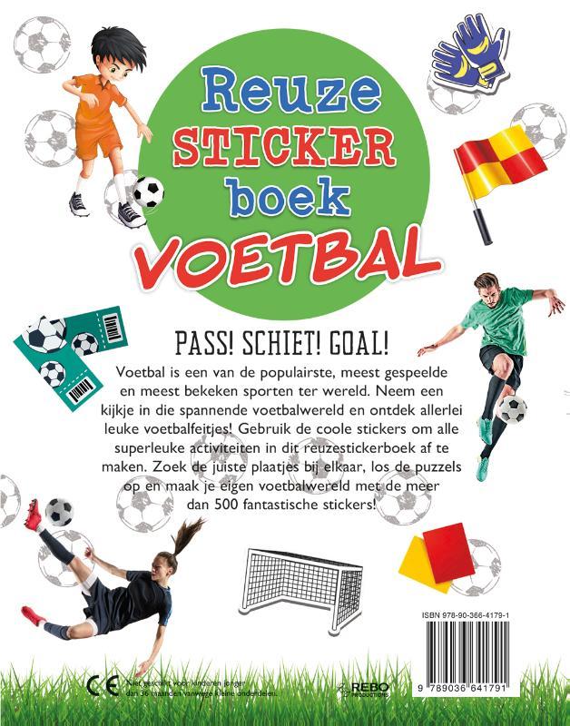 Claire Sipi,Reuzestickerboek Voetbal