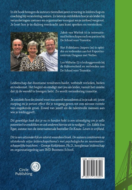 Jakob van Wielink, Riet Fiddelaers-Jaspers, Leo Wilhelm,Taal van transitie