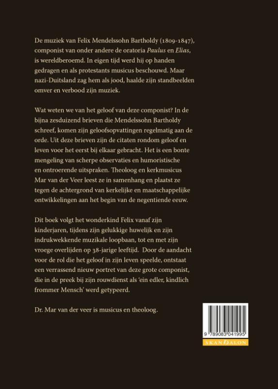 Mar van der Veer,Felix Mendelssohn Bartholdy