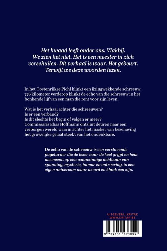 Frank Van Laecke,De echo van de schreeuw