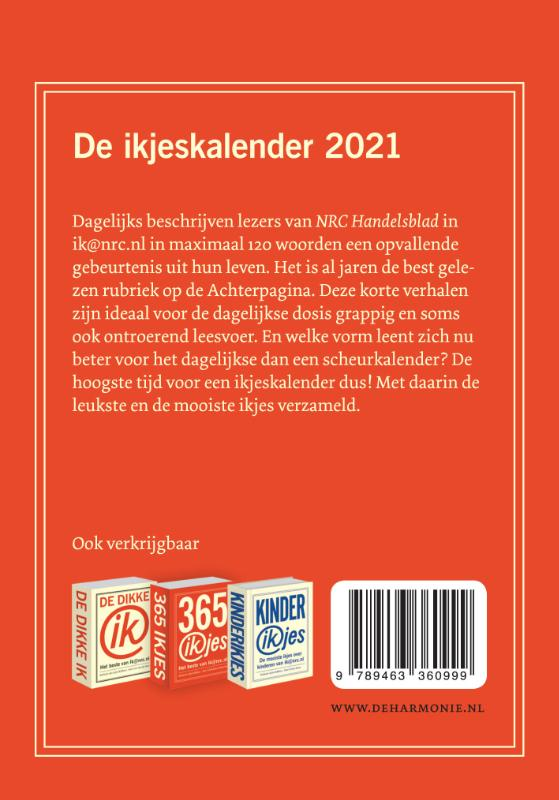 ,De ikjeskalender 2021