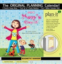 Mom`s Plan-It 17-Month 2017 Calendar