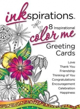 Health Communications, Inc. Inkspirations Color Me Greeting Cards