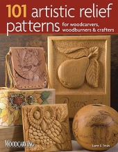 Irish, Lora S. 101 Artistic Relief Patterns for Woodcarvers, Woodburners & Crafters