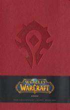 Blizzard Entertainment World of Warcraft Horde Hardcover Ruled Journal (Large)