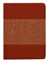Names of Jesus Lux-leather Journal Tan