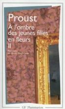Marcel  Proust PROUST*L`OMBRE DES JEUNES FILLES EN FLEURS, Vol.2