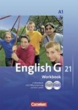 English G 21. Ausgabe A 1. Workbook mit CD-ROM (e-Workbook) und Audios Online