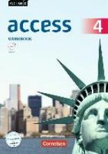 Seidl, Jennifer,   Rademacher, Jörg English G Access Band 4: 8. Schuljahr - Allgemeine Ausgabe - Workbook mit Audios online