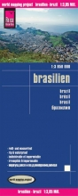 , Reise Know-How Landkarte Brasilien 1 : 3 850 000