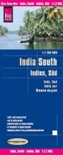 , Reise Know-How Landkarte Indien, Süd  1 : 1 200 000
