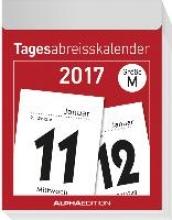 Tagesabreißkalender M 2017 (5,5 x 7,1 cm)