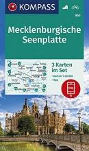 , Mecklenburgische Seenplatte 1:60 000