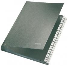 , Bureaumap Leitz A-Z karton zwart