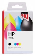 , Inktcartridge Quantore HP 3HZ51AE 903XL zwart 3 kleuren HC