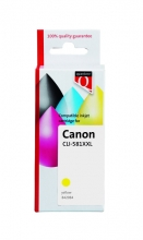 , Inktcartridge Quantore Canon CLI-581XXL geel
