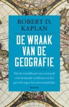 Robert  Kaplan De wraak van de geografie