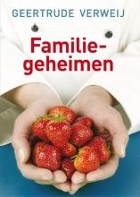 Geertrude  Verweij Familiegeheimen - grote letter uitgave