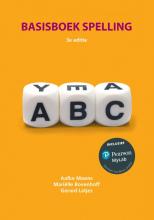 Aafke  Moons, Mariëlle  Bovenhoff, Gerard  Latjes Basisboek spelling, 3e editie met MyLab NL toegangscode