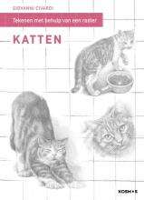 Giovanni Civardi , Tekenen met behulp van een raster - Katten