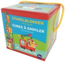 ZNU , Stapelblokken - Voertuigen (+ 12 m) Cubes à empiler - Les véhiclules (+ 12 m)