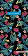 ZNU , To do-lijst - Floral Black